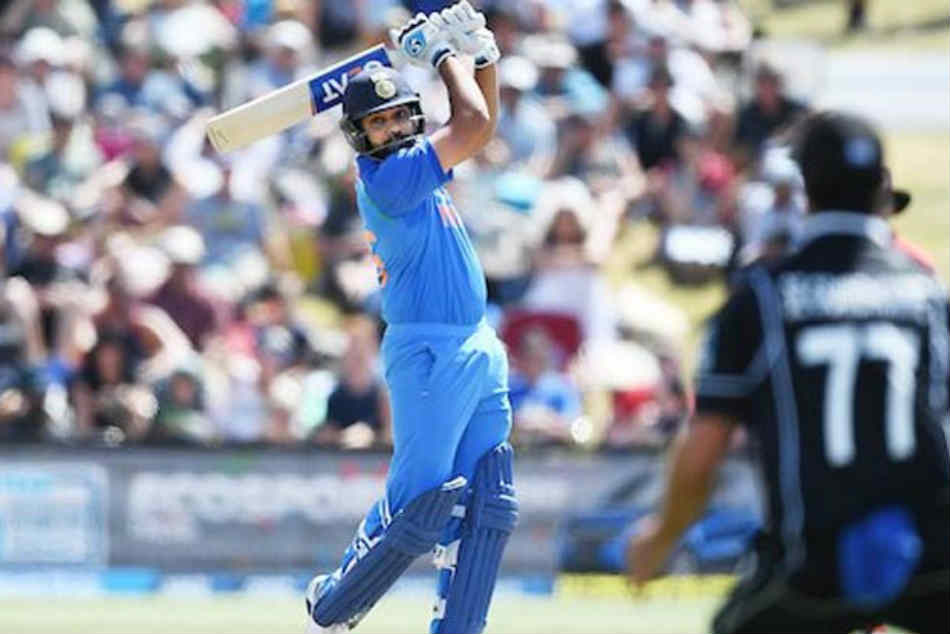 India Vs New Zealand Rohit Sharma Equals Ms Dhoni S Record Most Sixes