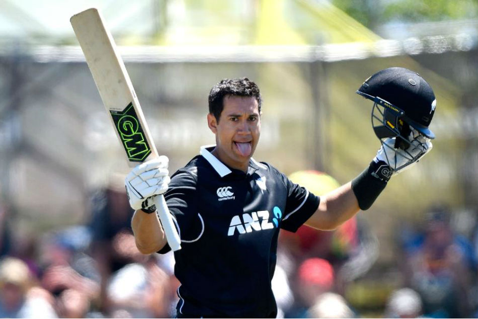 Ross Taylor Scores Hundred Against Sri Lanka Overtakes Sachin Tendulkar Virat Kohli