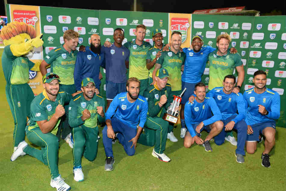 South Africa Beat Pakistan Seven Wickets Clinch Odi Series 3