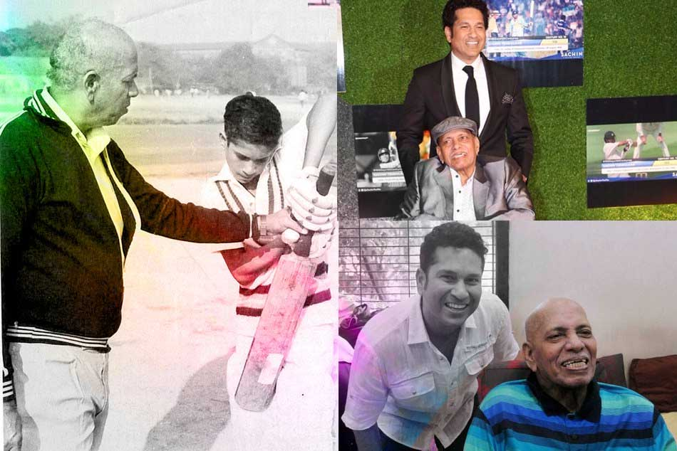 Sachin Tendulkar S Childhood Coach Ramakant Achrekar Dies At