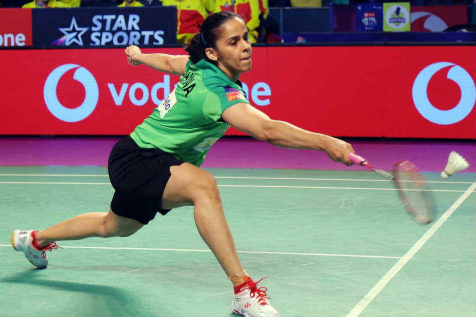 Saina Nehwal crashes out after losing to Carolina Marin