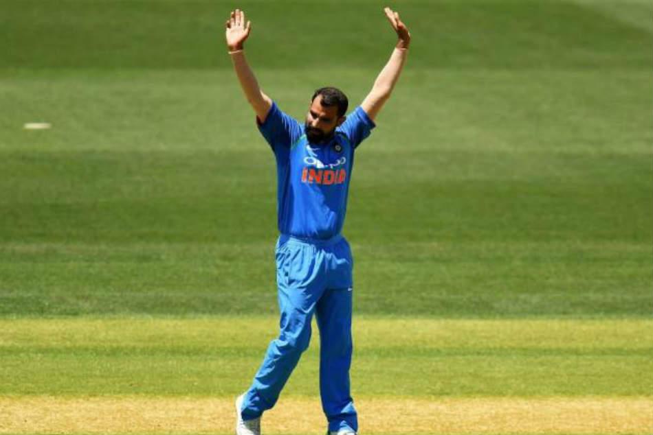 India Vs New Zealand Mohammed Shami Fastest Indian 100 Odi Wickets