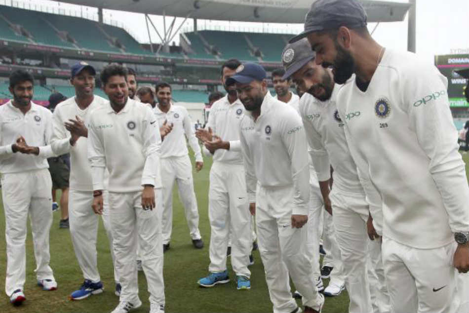 Watch Video: Indian players shake a leg at SCG after series win over Australia, Virat Kohli leads the charge