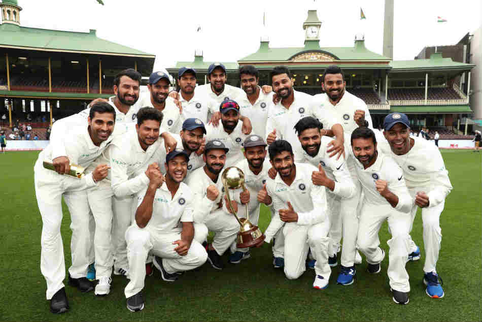 India Win Maiden Test Series Australia Twitterati Hail Kohli Co For Standing Tall Down Under