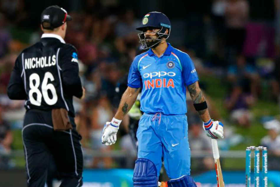 Virat Kohli becomes second indian cricketer most runs against new zealand