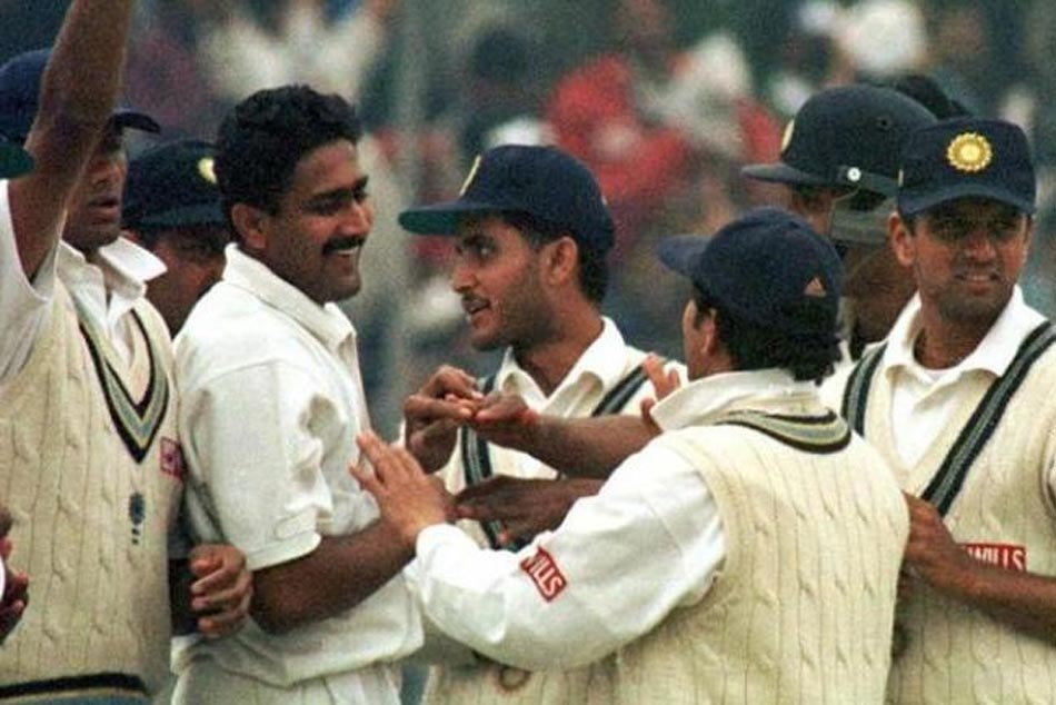 Years On Look Back At Anil Kumble S Historic 10 Wicket Haul Vs Pakistan