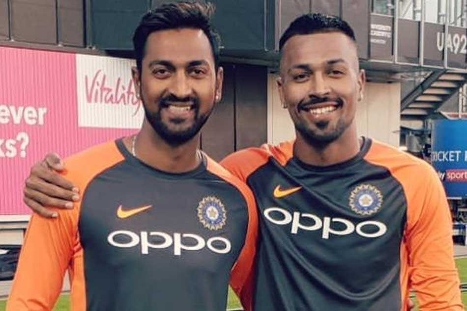 Hardik Krunal Pandya Set Play Alongside Each Other At International Level For First Time