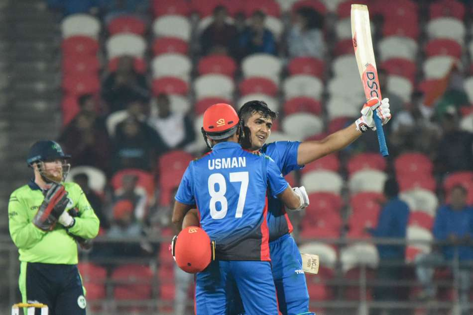 Zazais 162 leads Afghanistan to record T20I total