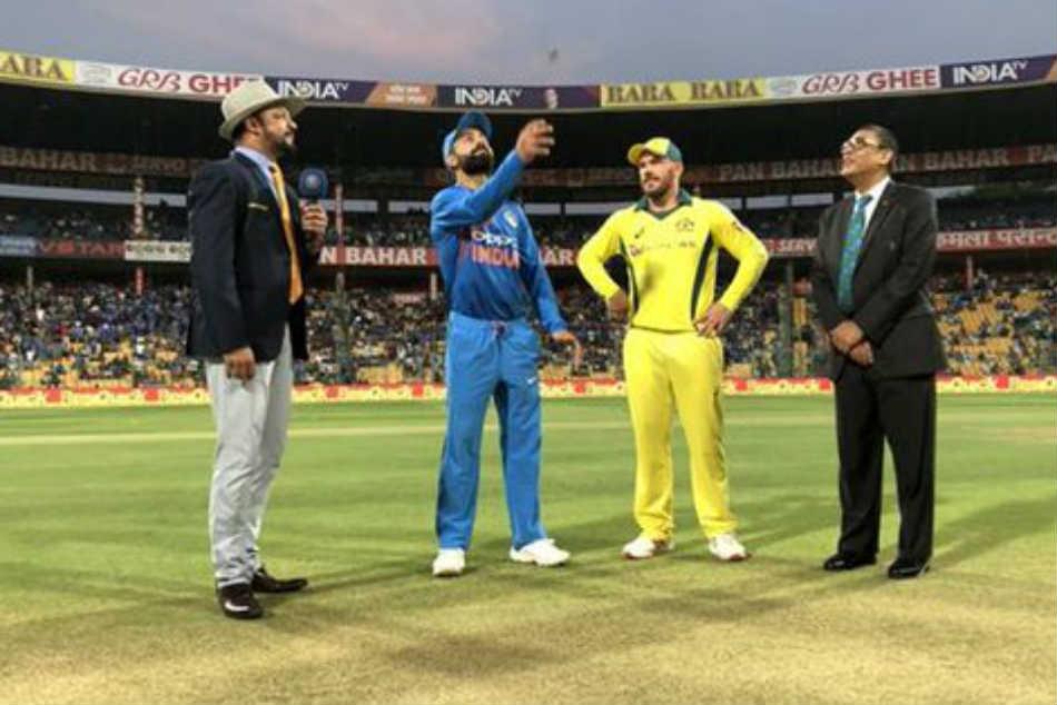 India Vs Australia 2nd T20i Live Updates Finch Wins Toss Invites Kohli To Bat 3 Changes For India