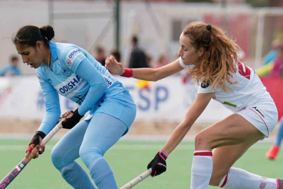 Spain hold Indian womens hockey team to 2-2 draw