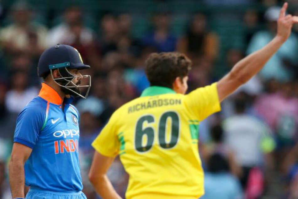 India Vs Australia Virat Kohli Vs Jhye Richardson Contest Wont Be Same This Time Says Hayden