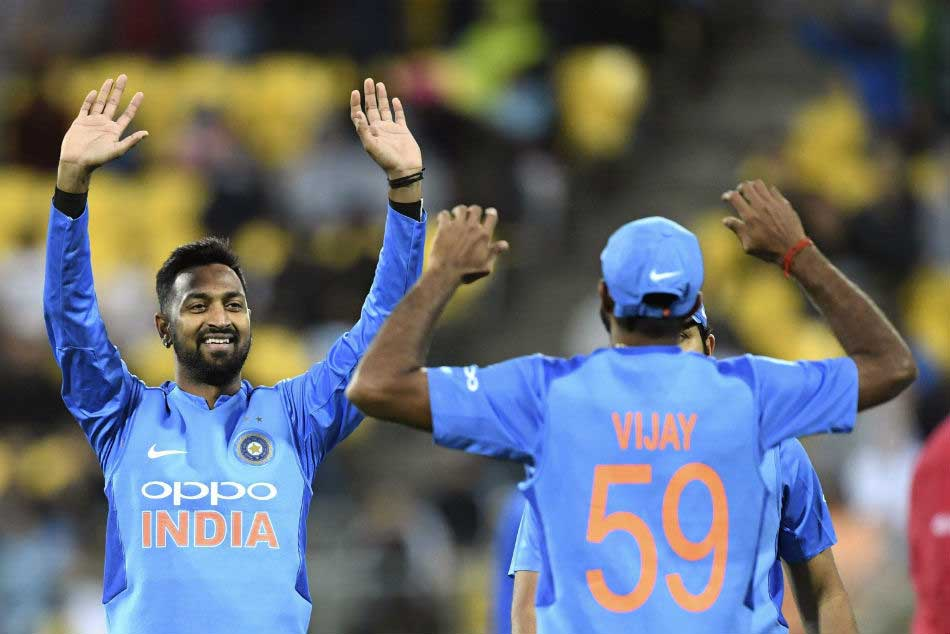 India Vs New Zealand Krunal Pandya Rues Conceding Runs Middle Overs Cost Team India