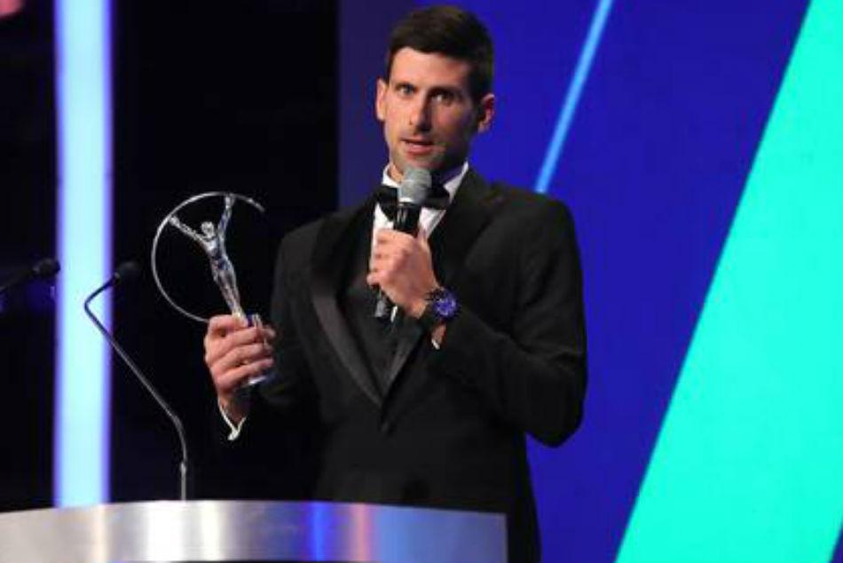 Laureus World Sports Awards Novak Djokovic Bags Top Honour