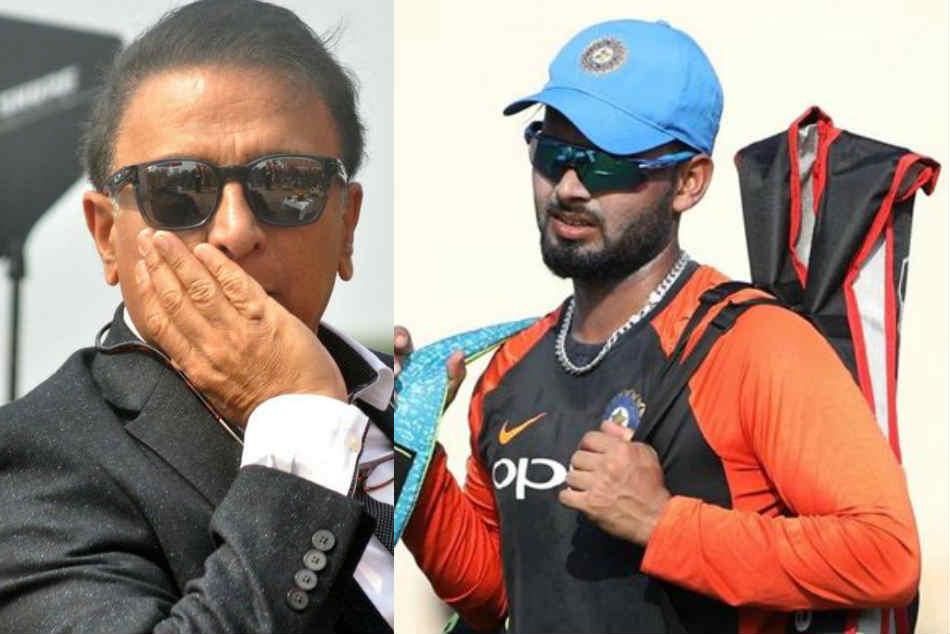 Make Rishabh Pant Bat At No 4 Or 5 Against Australia Sunil Gavaskar