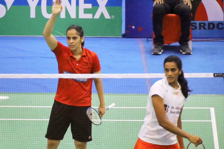 National Badminton Sindhu Semifinals Saina Kashyap Enter Quarterfinals