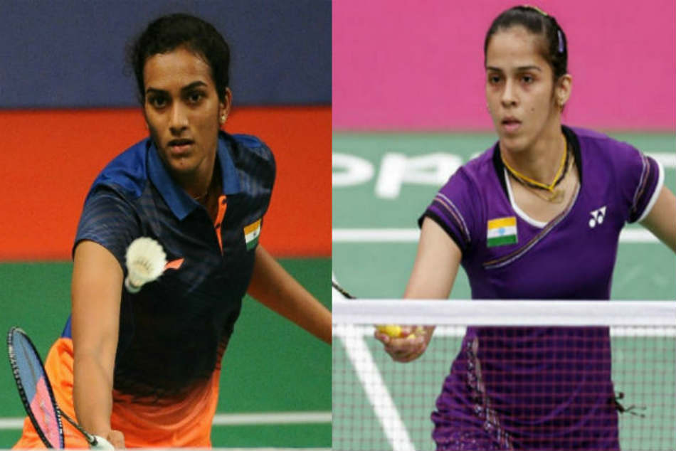 Saina Saurabh Emerge Champions The National Badminton
