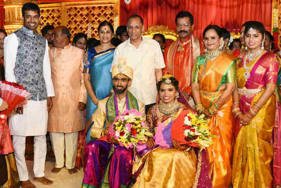 Badminton Players Sikki Reddy Sumeeth Reddy Marriage Hyderabad
