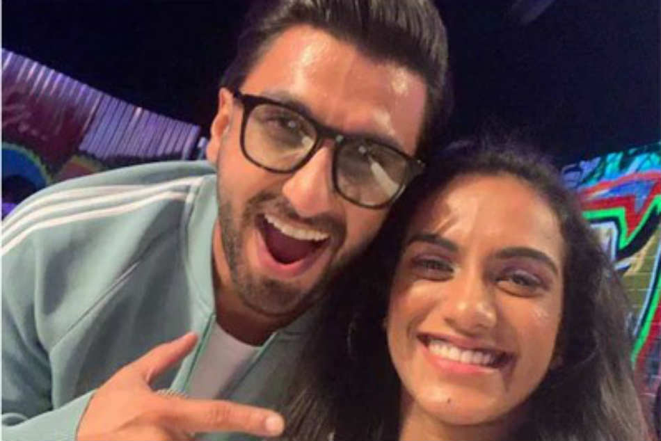 Keep Rocking Pv Sindhu Posts Picture With Gully Boy Ranveer Singh