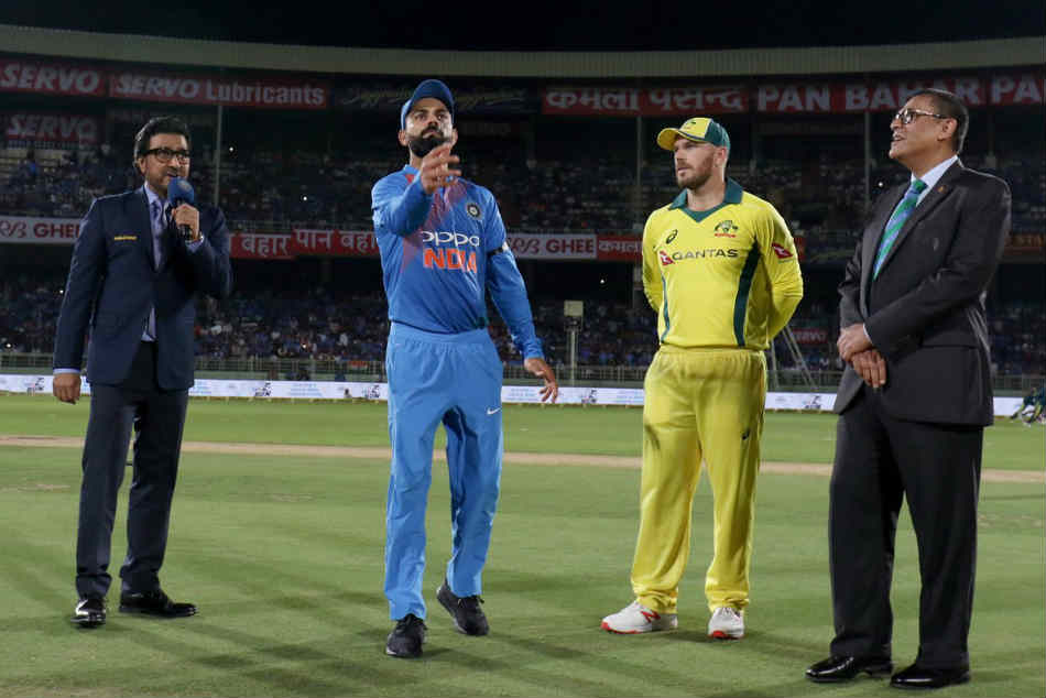 India Vs Australia Live Cricket Score 1st T20i At Visakhapatnam Australia Elect To Bowl First