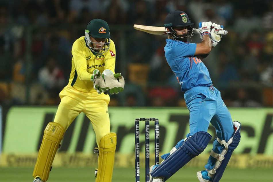 India Vs Australia 2nd T20i Live Cricket Score Virat Kohli Leads India To 190