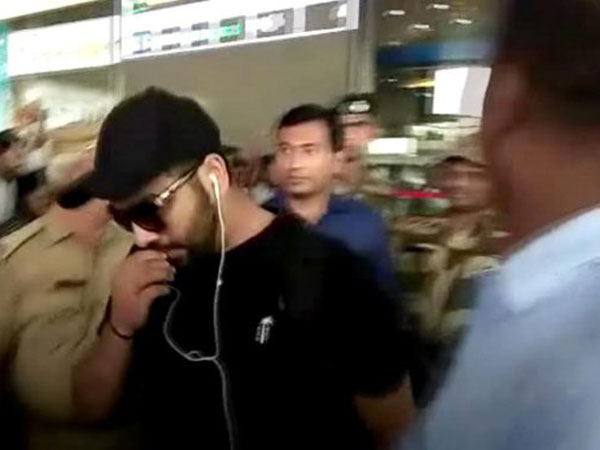 India vs Australia: Team India reaches visakhapatnam for 1st t20