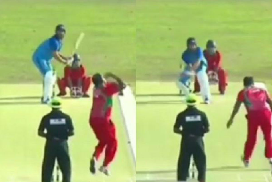 Yuvraj Singh rolls back years, smashes a six with a brilliant switch hit - Watch video