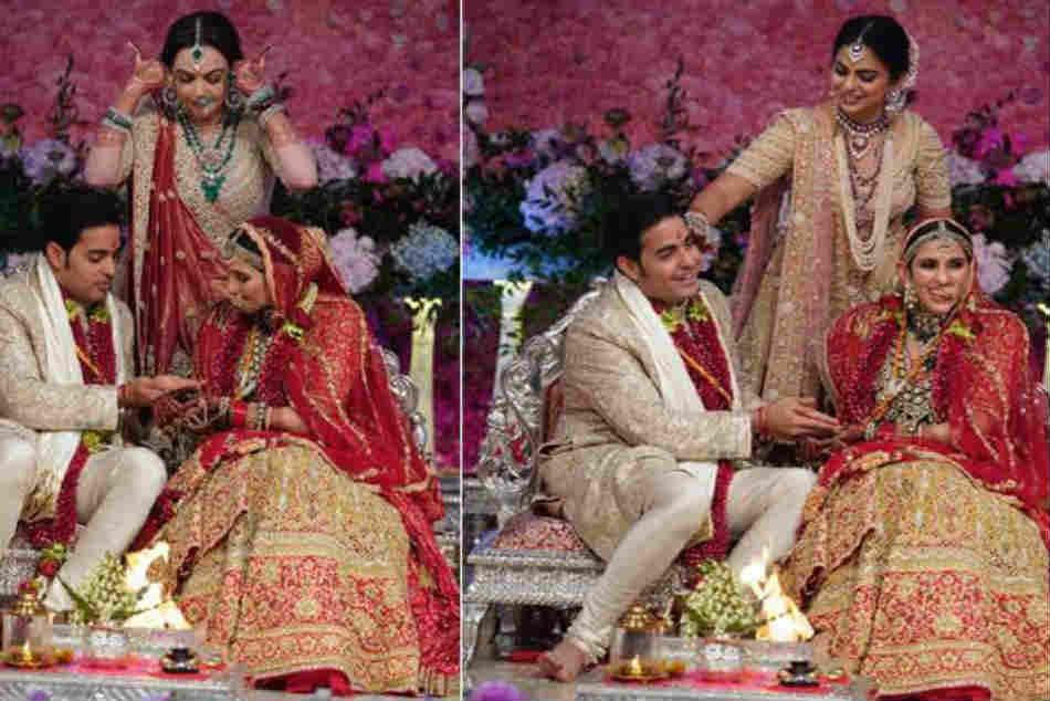 Akash Ambani Shloka Mehta Wedding Hardik Pandya Sachin Tendulkar