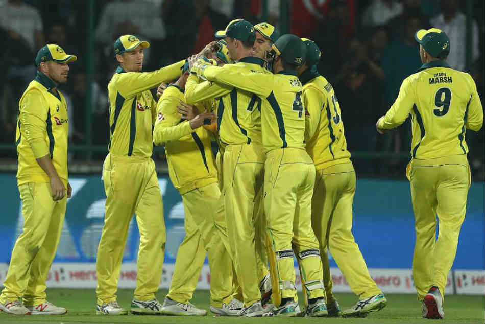 India Vs Australia 5th Odi Highlights Australia Outshine India By 35 Runs To Clinch Series 3