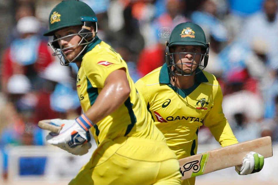 India Vs Australia 3rd Odi Live Cricket Score Aaron Finch Usman Khawaja