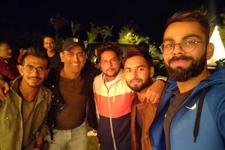 Bhabhiji ruining our fitness levels: Rishabh Pant after dinner at MS Dhonis house