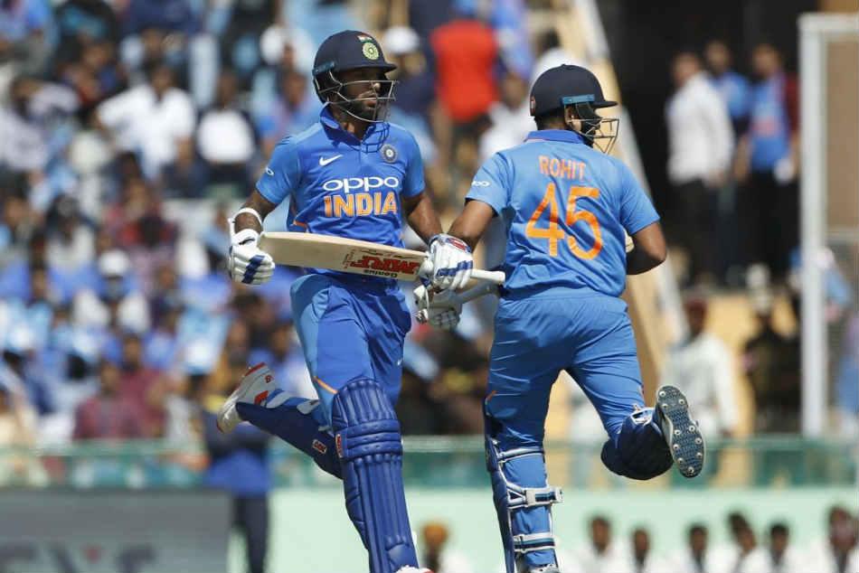 India Vs Australia 4th Odi Live Cricket Score Rohit Sharma Shokhar Dhawan Partnership