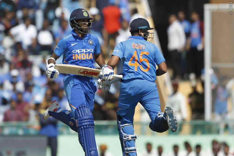 Rohit Sharma Shikhar Dhawan Plunder Australia Put India Command