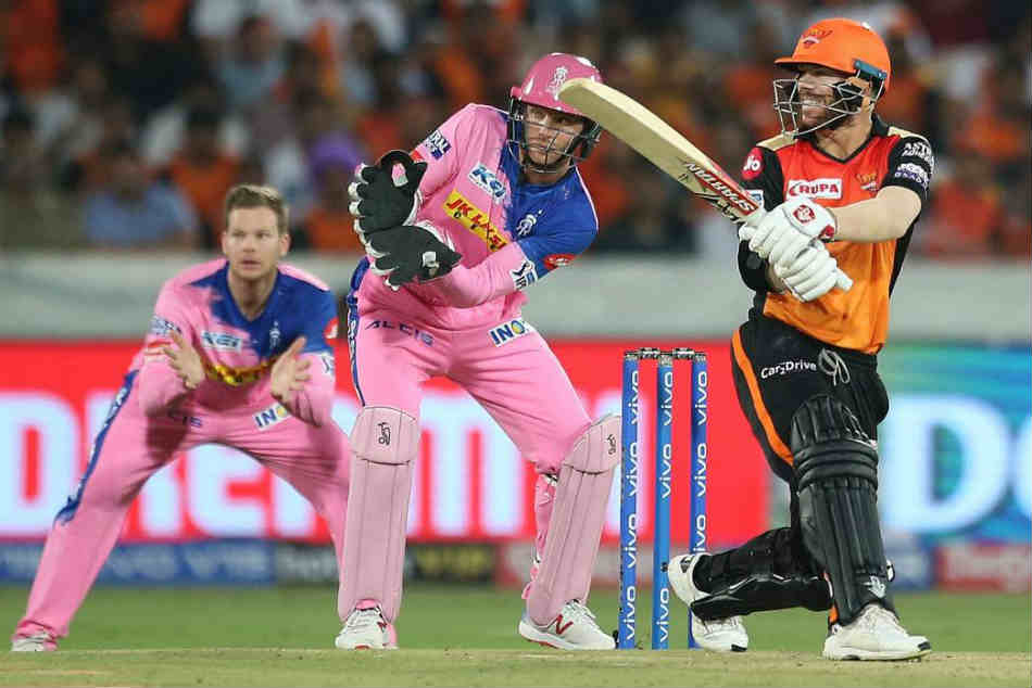 David Warner wallops 69 for Sunrisers to defeat Steve Smith in IPL