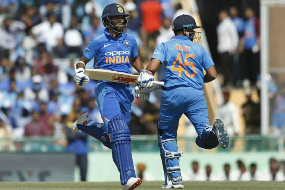 India Vs Australia Cricketing Fraternity Hails Shikhar Dhaw Rohit Sharma Record