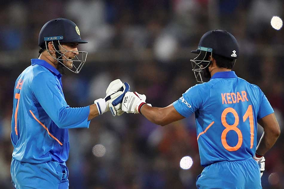 India Vs Australia Every Time I See Ms Dhoni I Feel Confident Kedar Jadhav