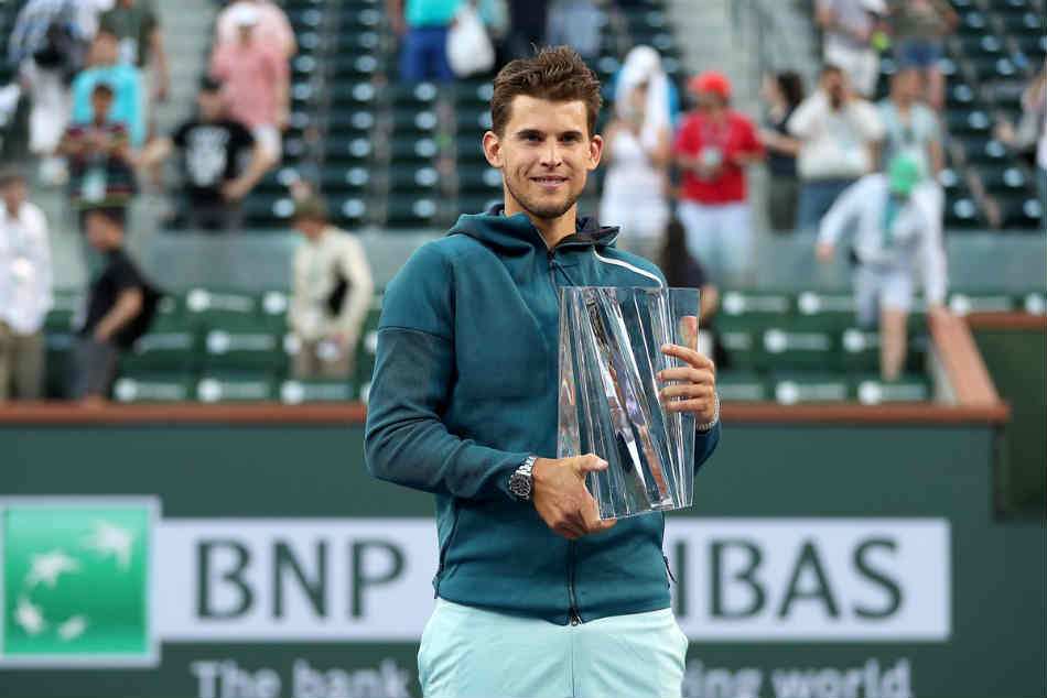 Thiem Topples Federer Maiden Masters Title Messi Magic Hands Barca 4 1 Victory