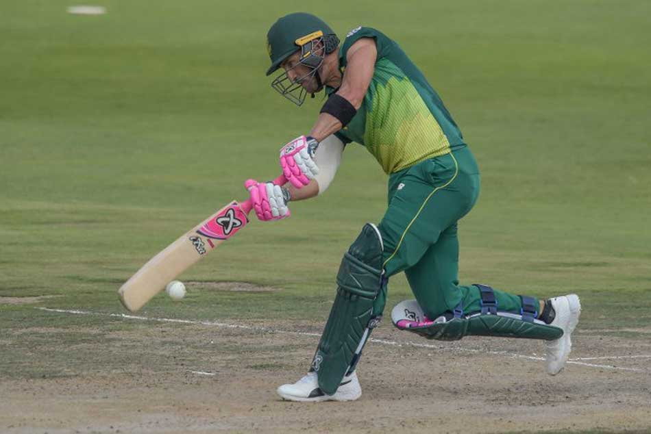 In Form Du Plessis Makes Century Emphatic Proteas Win