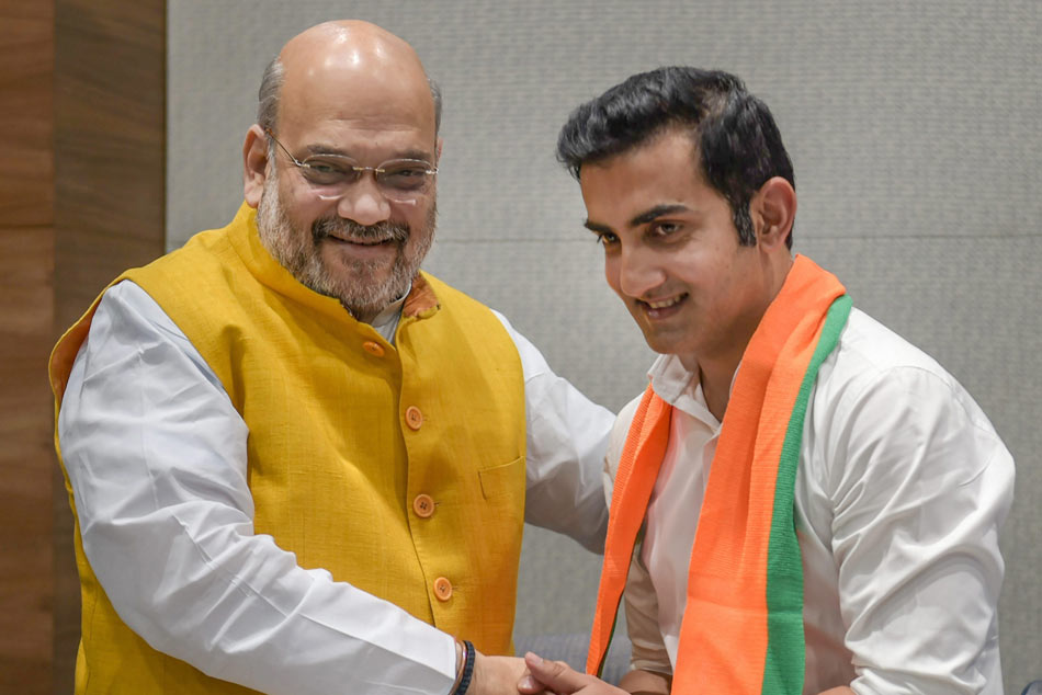 Ex-Cricketer Gautam Gambhir Joins BJP, Says Influenced By PMs Vision