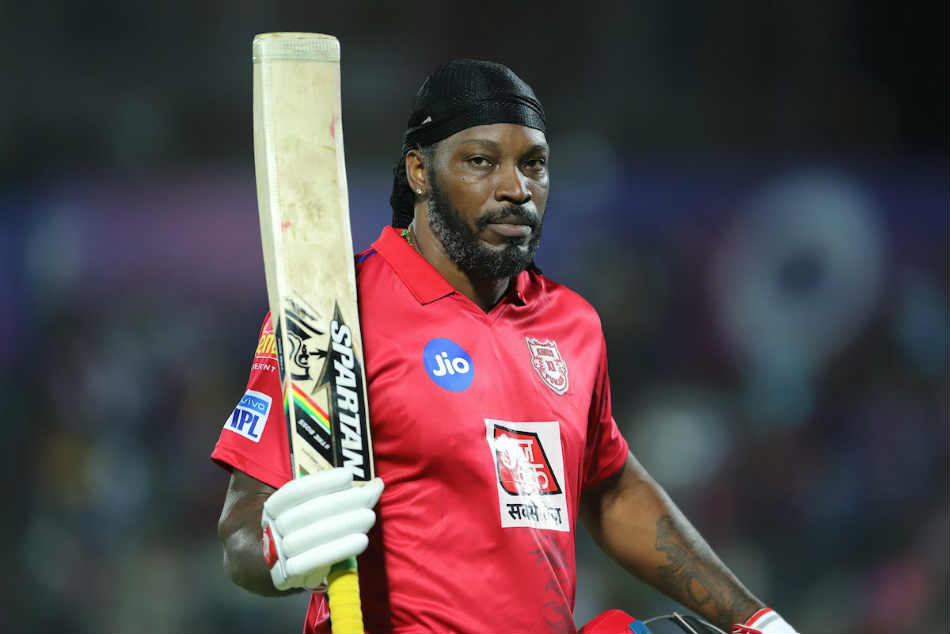 Ipl Rr Vs Kxip Ipl Score Chris Gayle Sarfaraz Khan Power Kings Xi Punjab To 184