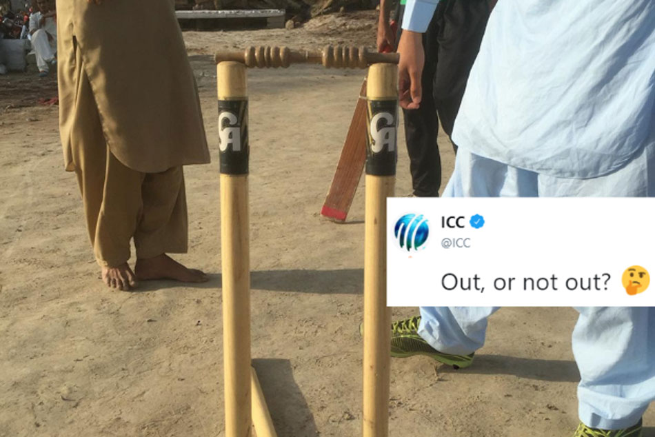 Out Or Not Out Icc Turns Third Umpire Confused Gully Cricketers In Pakistan