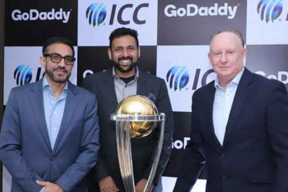 GoDaddy partners with ICC as official sponsor for Cricket World Cup 2019