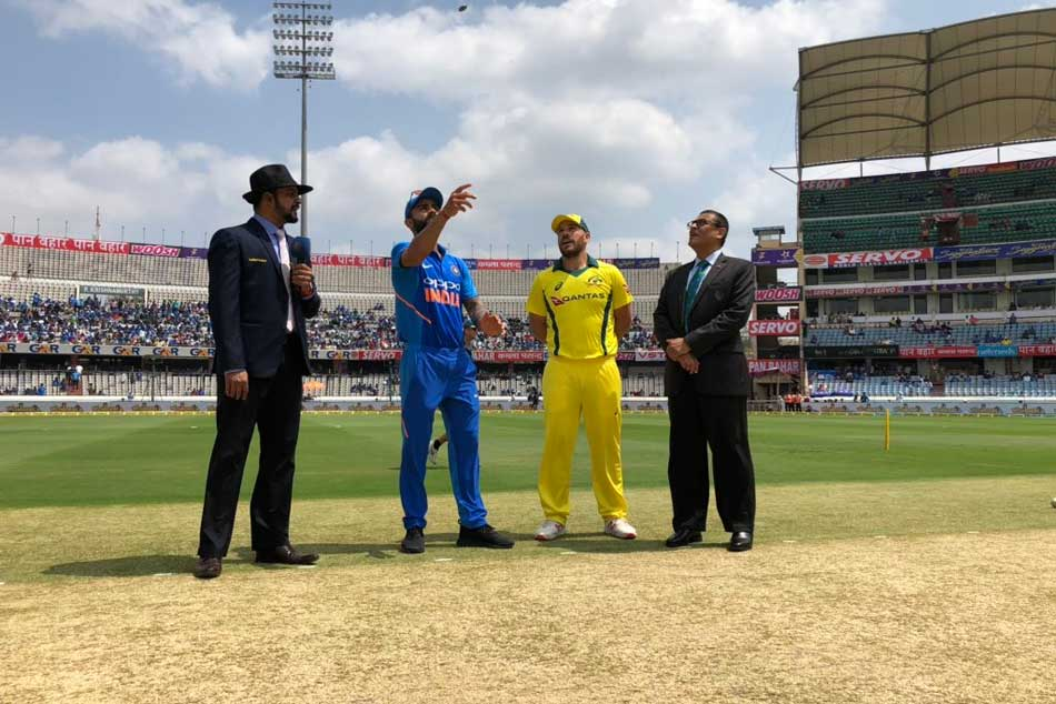 India vs Australia 1st ODI Live Cricket Score: Aaron Finch Opts To Bat Against India In Hyderabad