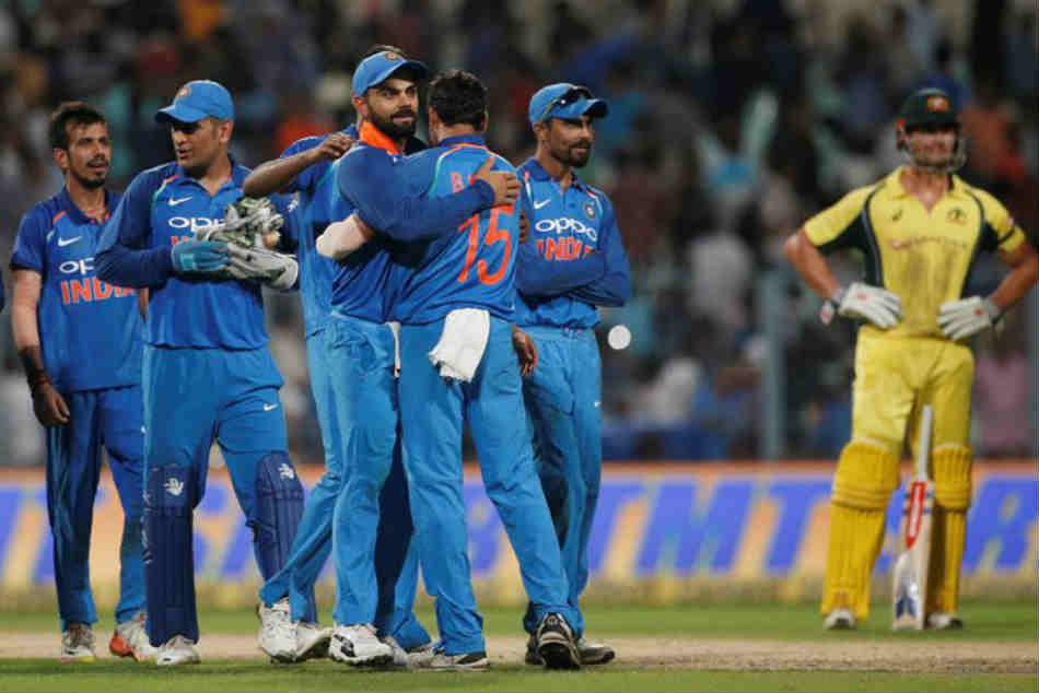 India Or Australia Head To Head Record Ahead 5th Odi At Feroz Shah Kotla