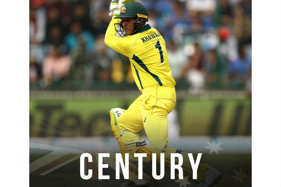 India Vs Australia Usman Khawaja Kohli De Villiers League After Delhi Odi Hundred