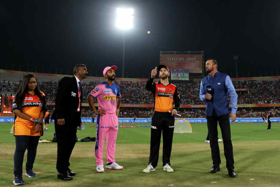 Ipl 2019 Srh Vs Rr Live Updates Rajasthan Royals Win The Toss And Elect To Bat