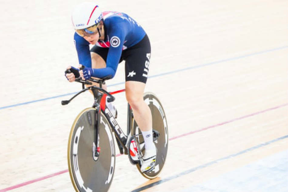 USAs Kelly Catlin, three-time cycling world champion, dies aged 23