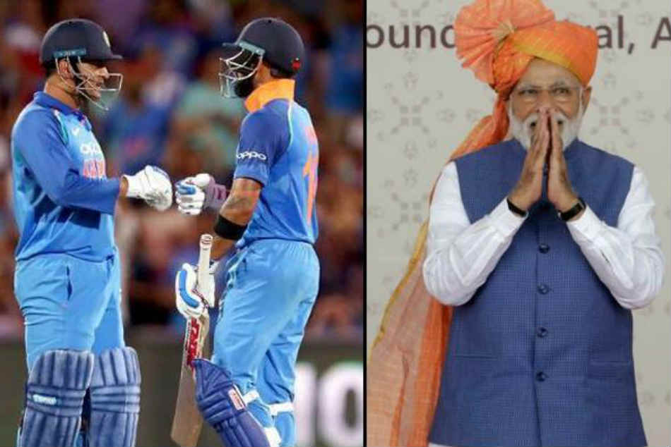 Pm Narendra Modi Urges Ms Dhoni Virat Kohli Sporting Fraternity To Inspire Record Breaking