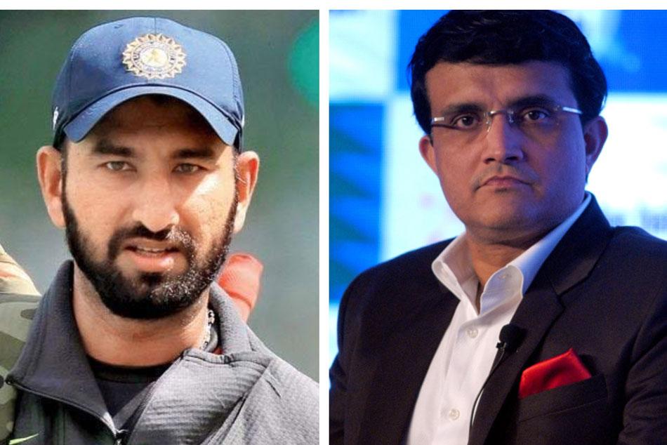 Sourav Ganguly Backs Cheteshwar Pujara Bat At No 4 India Odis