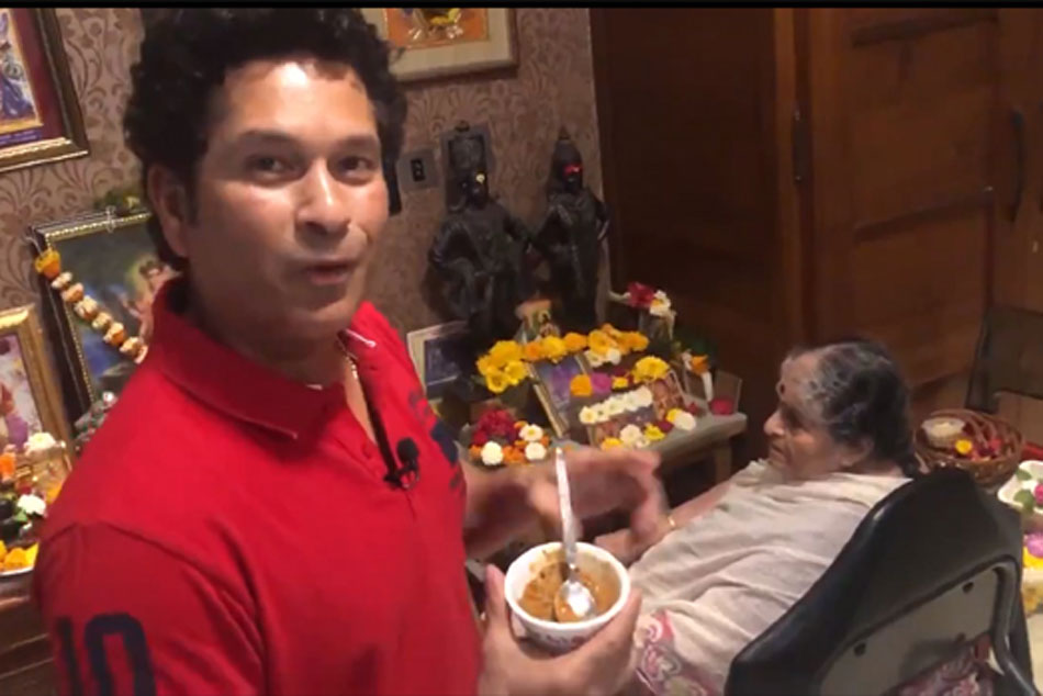 Watch: Sachin Tendulkar Shares Sweet Gestures Of Love On Womens Day, Cooks For His Mom