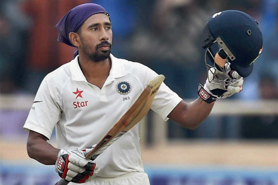 No Competition With Rishabh Pant Says Wriddhiman Saha